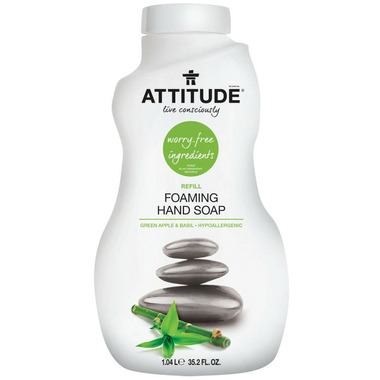 ATTITUDE Foaming Hand Soap Refill Green Apple & Basil