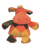 Hugglehounds Chubbie Buddies Squeaky Small Hippo Dog Toy