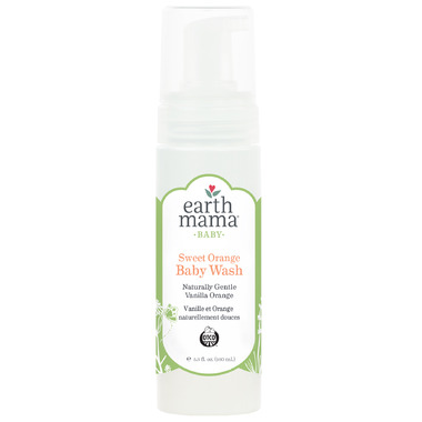 Earth Mama Organics Baby Sweet Orange Wash