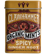 Clawhammer Organic Mints Spicy Ginger Root