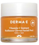 Derma E Vitamin C peeling visage aux agrumes éclat instantané