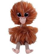 Ty Beanie Boo's Orson the Brown Ostrich Regular