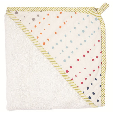 Pehr Designs Petit Pehr Painted Dots Hooded Towel