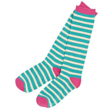 Little Blue House Women\'s Knee High Socks Glamping