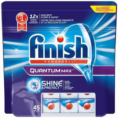 Finish Quantum Max Shine & Protect Dishwasher Tablets