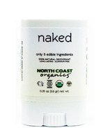 North Coast Organics naked Organic Deodorant Travel Size