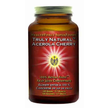 HealthForce Truly Natural Acerola Cherry Vitamin C Powder