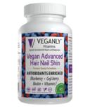 Veganly Vitamins Vegan Advanced Hair Nail Skin
