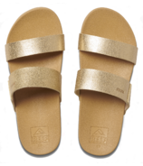 Reef Kids Cushion Bounce Tan Champagne
