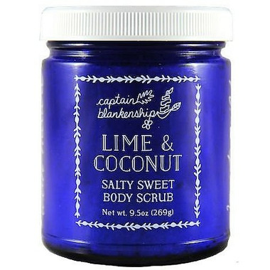 Captain Blankenship Lime and Coconut Sweet and Salty Scrub