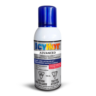 Icy Hot Advanced Medicated Spray