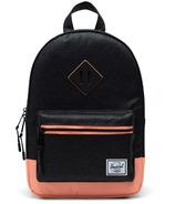 Herschel Supply Heritage Kids Noir Sparkle/Neon Peach