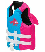 SwimWays Sea Squirts FINtastic Life Jacket Pink