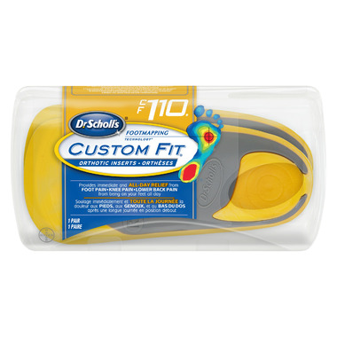 Dr. Scholl\'s Custom Fit Orthotic Inserts CF 110
