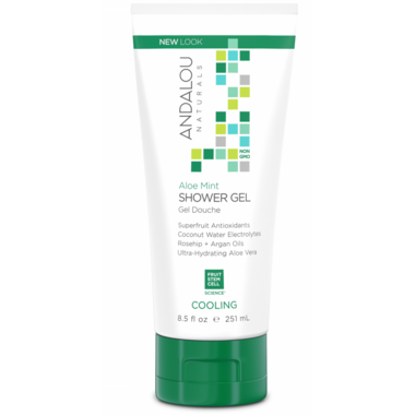 ANDALOU naturals Aloe Mint Cooling Shower Gel