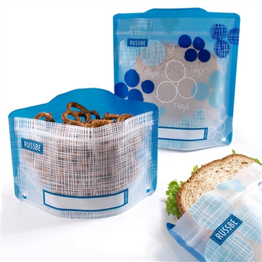 Russbe Reusable Snack/Sandwich Bags Fruit