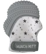 Gant de dentition Munch Mitt Gris Étoiles