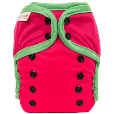Bummis All-in-One Pure Diaper Watermelon