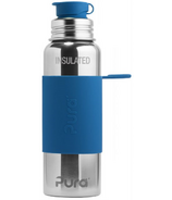 Pura Sport Insulated Water Bottle Steel Blue
