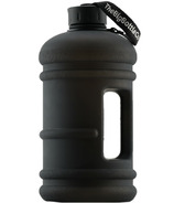 The Big Bottle Co Jet Black 2.2L Water Bottle