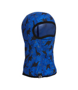 Kombi Snuggly Fleece Balaclava Children Blue Dino