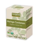 Rootalive Organic Moringa Cardamom Tea