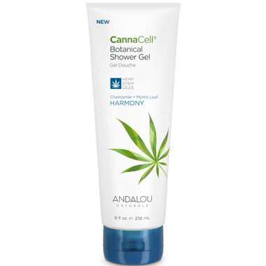 ANDALOU naturals CannaCell Botanical Shower Gel Harmony