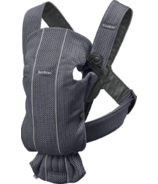 BabyBjorn Baby Carrier Mini Anthracite 3D Mesh