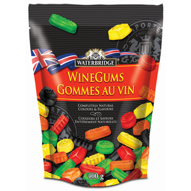 Waterbridge English Wine Gums Pouch