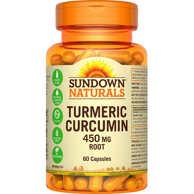 Sundown Naturals Tumeric Curcumin