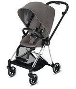 Cybex Mios Chrome Black Frame with Manhattan Grey Seat Pack