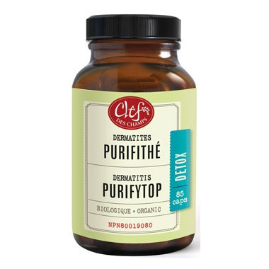 Clef Des Champs Organic Purify Top Capsules