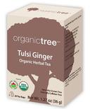 OrganicTree Organic Tulsi Ginger Tea