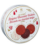 Saxon Chocolates The Ultimate Belgian Chocolate Cookies Tin