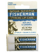 Nova Scotia Fisherman Lip Balm DUO Sea Salt N Caramel