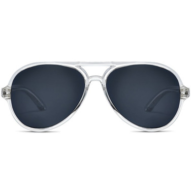 Hipsterkid Aviator Polarized Sunglasses Clear
