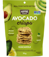 Hippie Snacks Avocado Crisps Guacamole