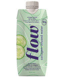Flow Alkaline Spring Water Collagen-Infused Spring Water Cucumber