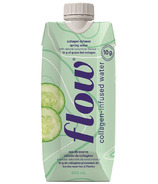 Flow Water Collagen-Infused Spring Water Cucumber