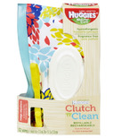 Huggies Natural Care Clutch 'n' Clean Refillable Wipes
