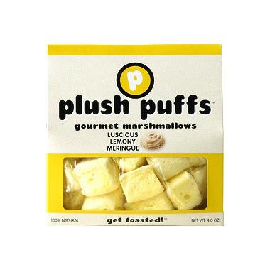 Plush Puffs Luscious Lemony Meringue Gourmet Marshmallows