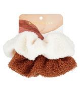 Kristin Ess Hair Cozy Scrunchies White/Rust