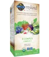 Garden of Life mykind Organics Vitamine B-Complex une fois par jour