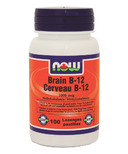 NOW Foods Brain B-12 Lozenges