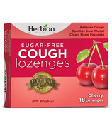 Herbion Sugar Free Cough Lozenges Cherry