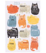 Now Designs Tea Towel Purrfect Year