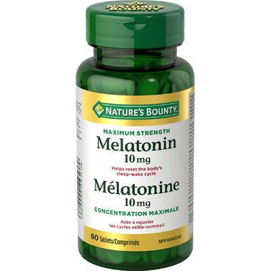Nature\'s Bounty Maximum Strength Melatonin