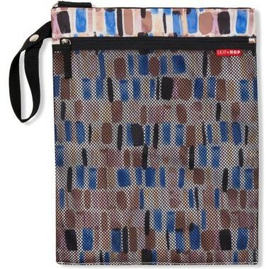 Skip Hop Grab & Go Wet/Dry Bag Brush Stroke