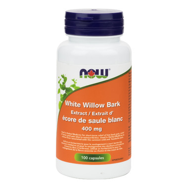 NOW Foods White Willow Bark 400 mg