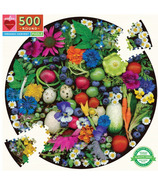 eeBoo Organic Harvest Round Puzzle